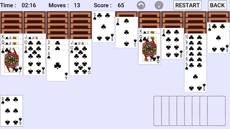 Spider Solitaire : Classic screenshot-3