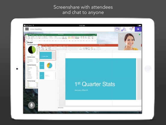 Start Meeting screenshot
