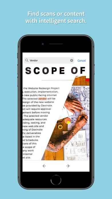 messages.download Adobe Scan Digital PDF Scanner software