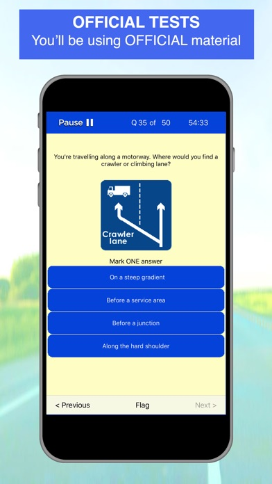 Screenshot for Driving Theory Test - 2019 in Ireland App Store