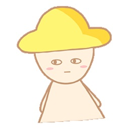 Yellow hat Stickers