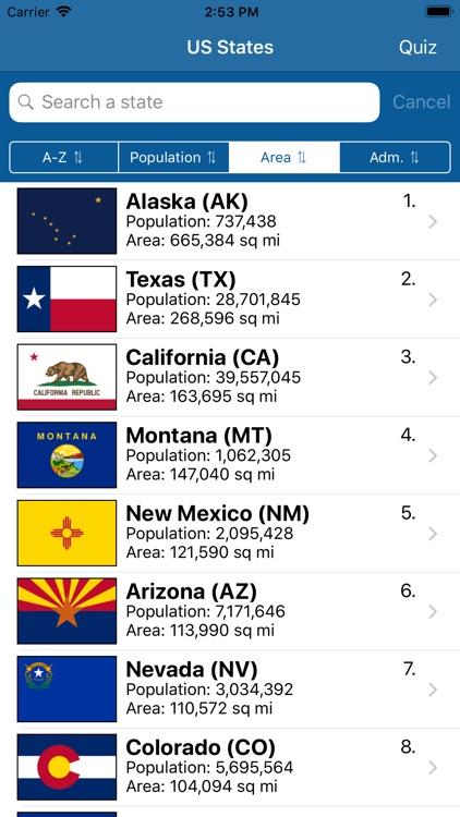US States Flags Seals Quiz screenshot-8