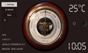 Old Barometer