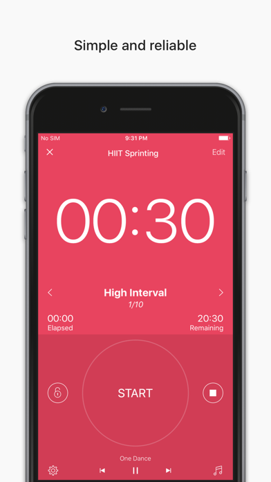 Interval Timer - HIIT Workoutsのおすすめ画像1