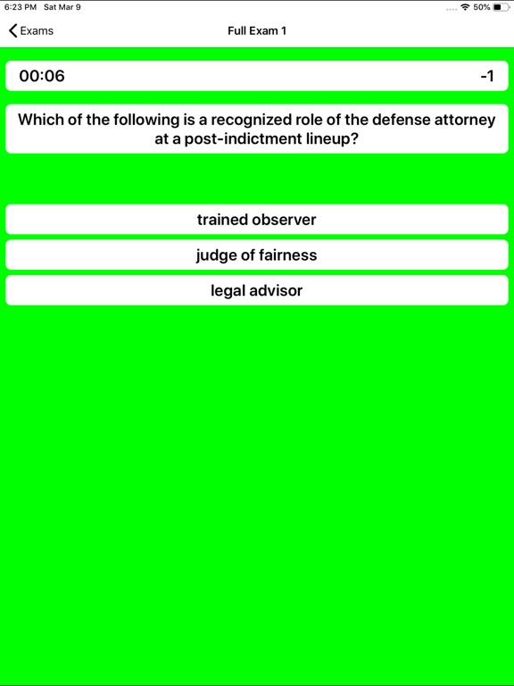 Police Sergeant Exam Prep screenshot 13