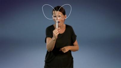 Alf Prøysen på tegnspråk iPhone
