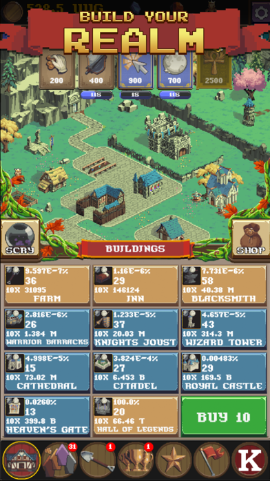 Realm Grinder screenshot two