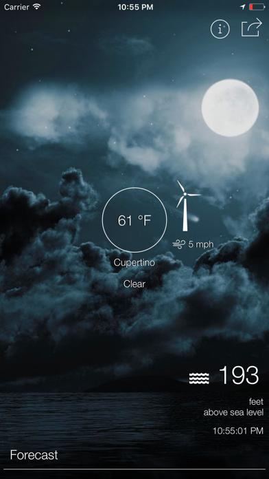 ハイパーローカル天気と正確な標高のおすすめ画像3