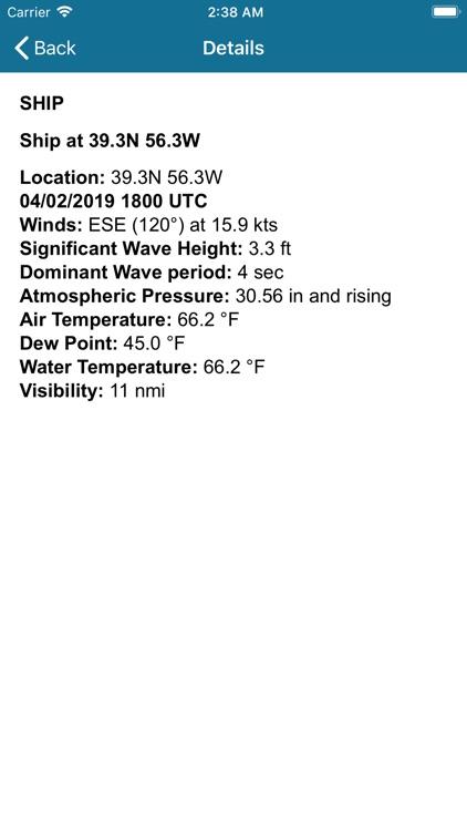 NOAA Buoy Stations & Ships screenshot-3