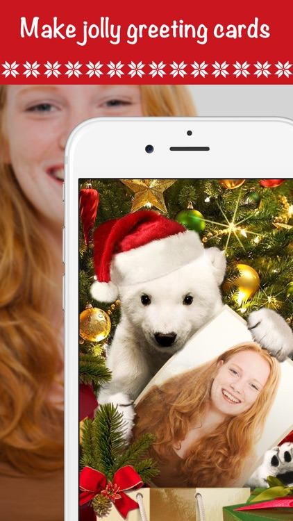 Christmas Cards - Photo Editor screenshot-7