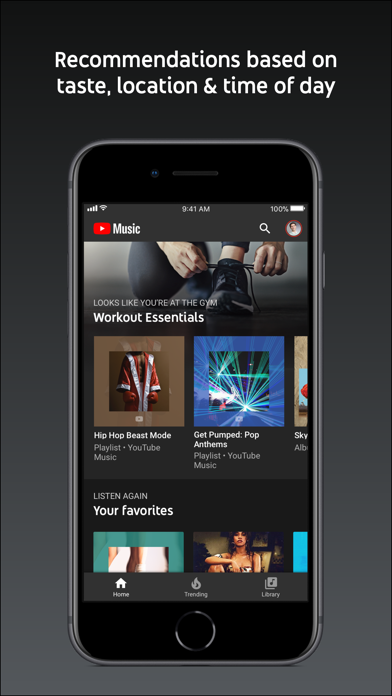 download YouTube Music apps 4