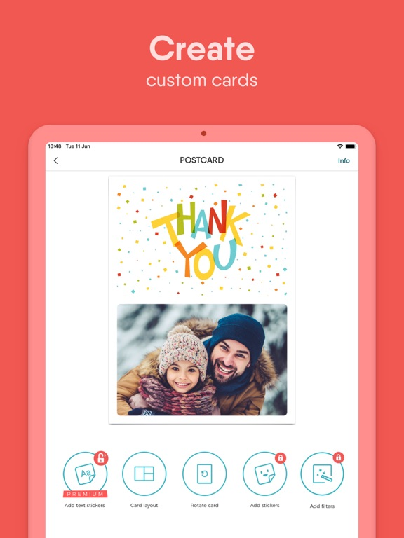TouchNote - Create Photo Cards screenshot