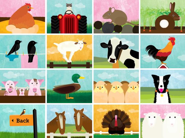 Peek-a-Zoo Farm : Toddler Fun Screenshot