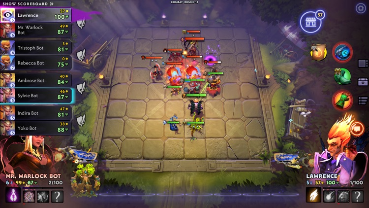 Dota Underlords screenshot-4