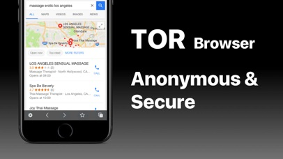 VPN + TOR Browser Private Web Screenshot