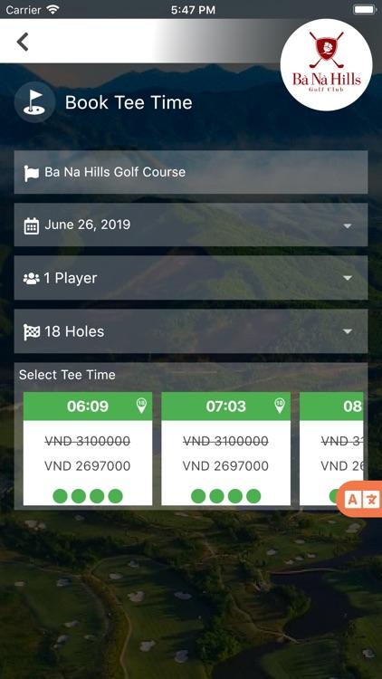 Ba Na Hills Golf Club screenshot-3
