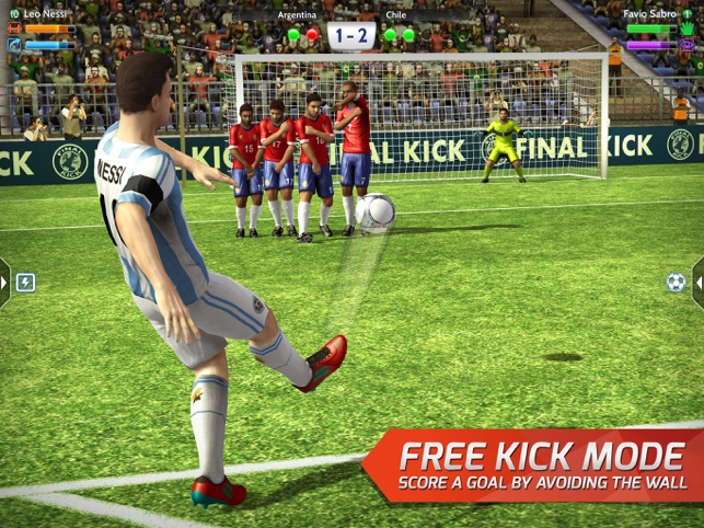 dfe35755978  Final Kick  Online football on the App Store