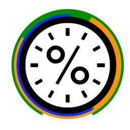 Percent Clock