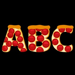 Pizza Alphabet Sticker Pack