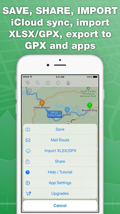 inRoute Route Planner screenshot-4