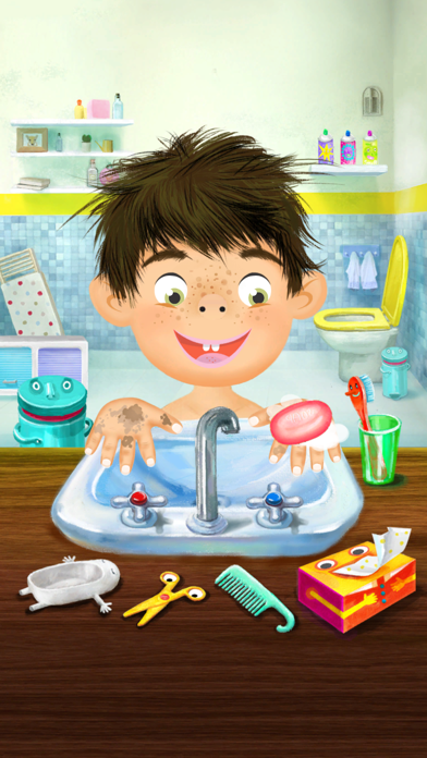 Screenshot of Pepi Bath1