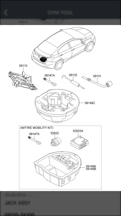 Kia Car Parts Diagrams screenshot-3