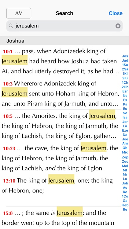 Online Bible screenshot-3