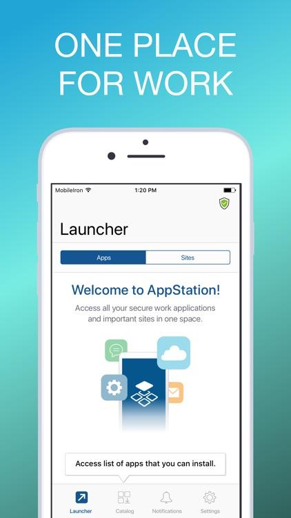 MobileIron AppStation