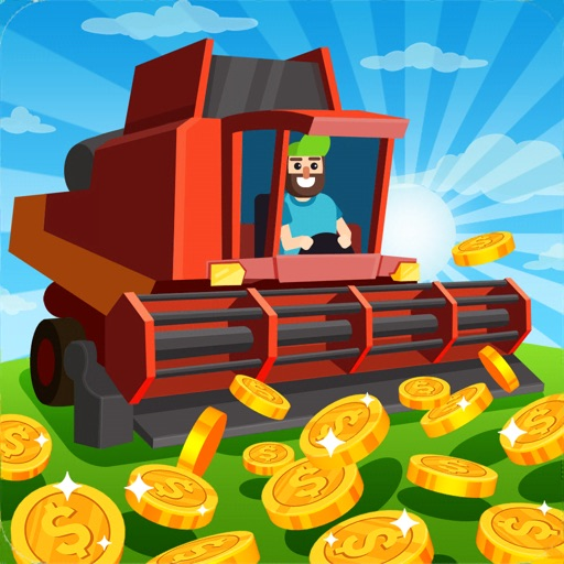 Harvester idle : cut the weed