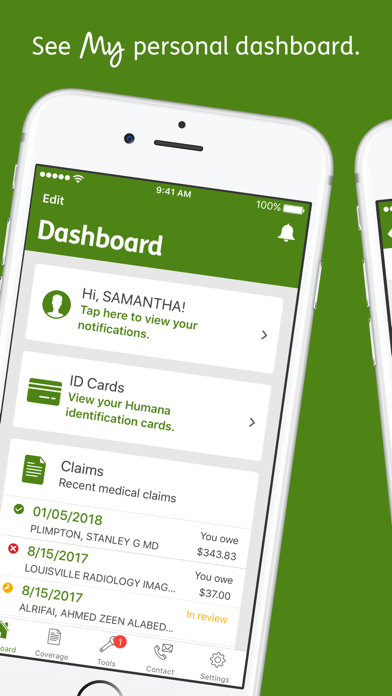 messages.download MyHumana software