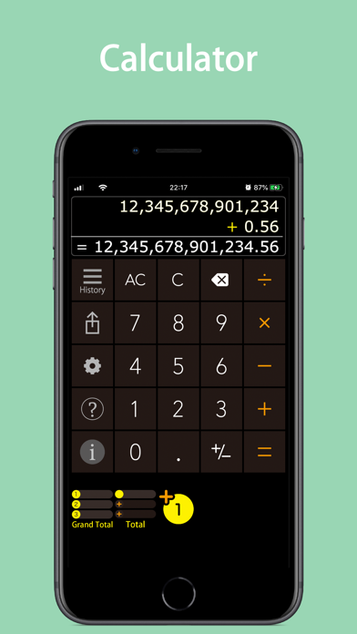 CalcuTotal Screenshot