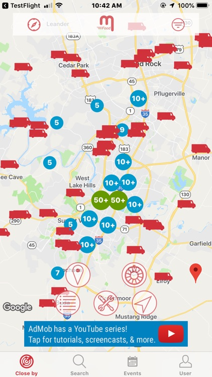 mFood™ - Food Truck Finder App screenshot-3