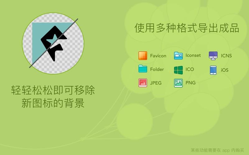 Image2icon - 制作自己的图标 for Mac