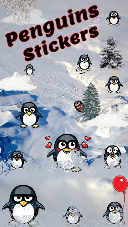 Penguin Emoji Stickers