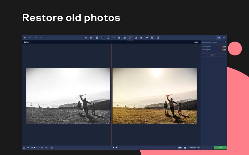 Movavi Photo Editor Screenshots