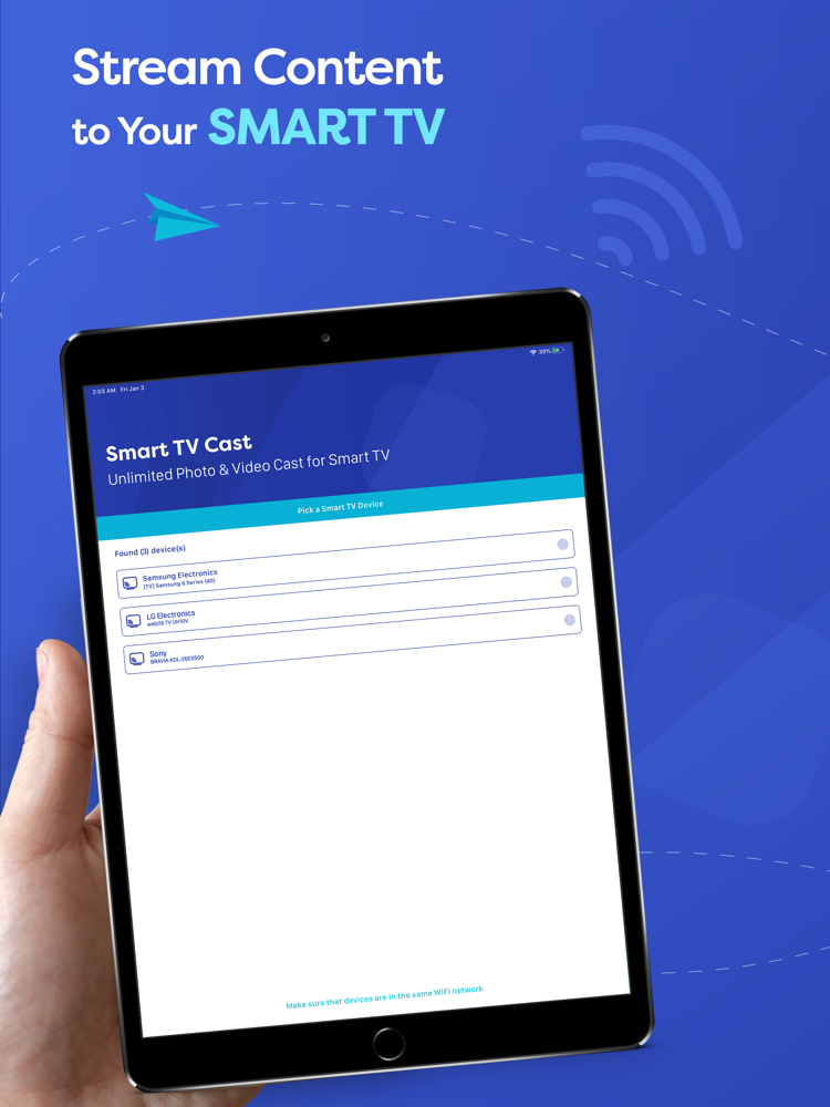 Smart TV Cast - Screen Mirror App for iPhone - Free ...