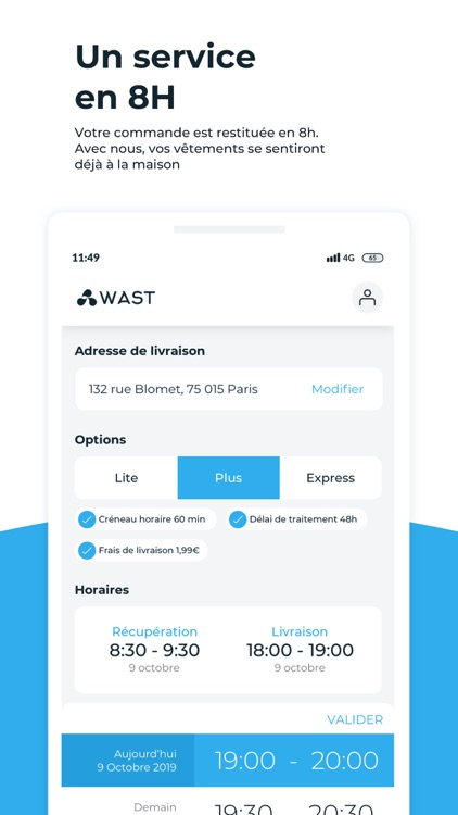 Wast - Le Pressing Mobile screenshot-3