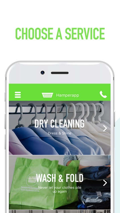 Hamperapp | Laundry On-Demand