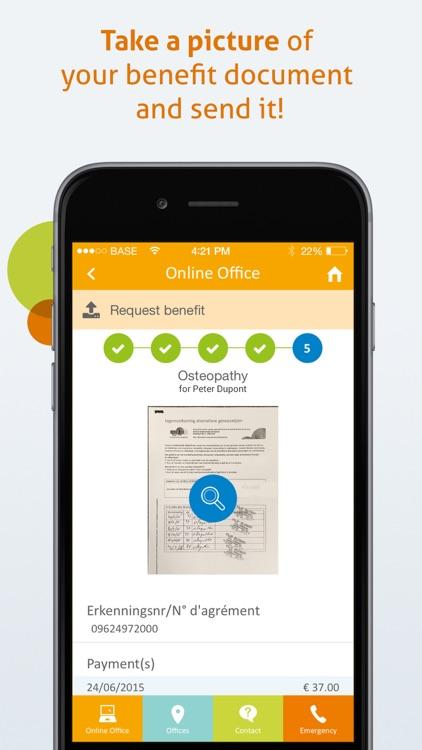 Partena Health Insurance Fund screenshot-3