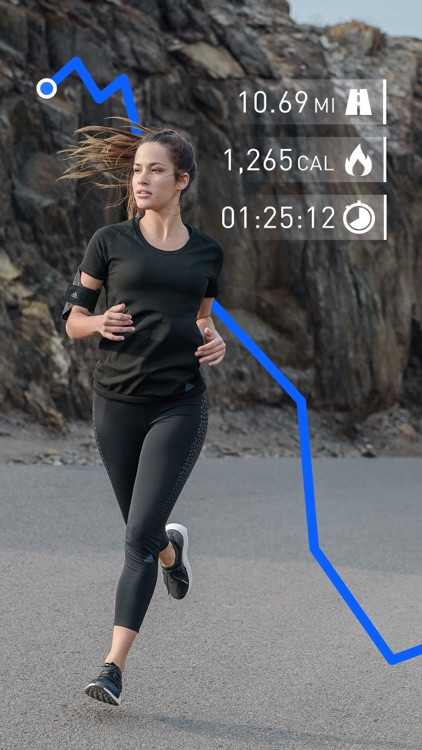 Runtastic Running Tracker PRO screenshot-0