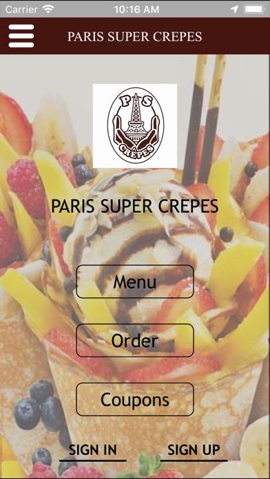 ParisSuperCrepe - 窓用