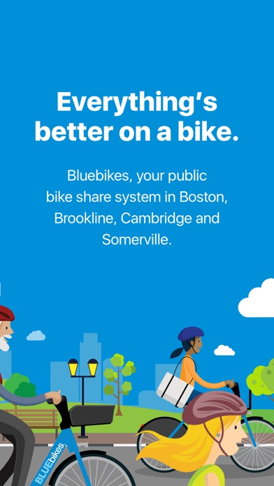 messages.download Bluebikes software