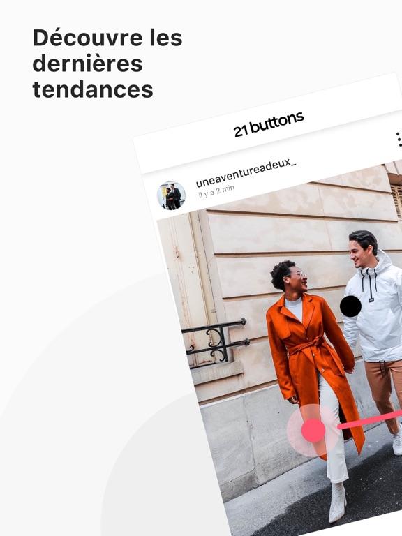 21 Buttons: Mode et tendances