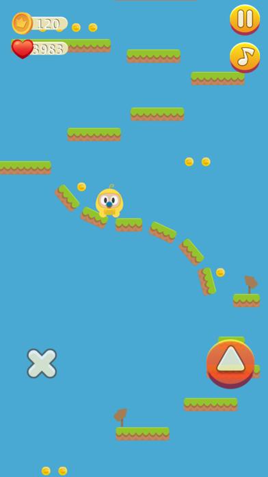 Floor Is Lava - Addictive Game Screenshot on iOS