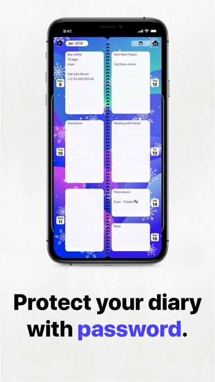 Week Planner To Do List, Diary screenshot-5