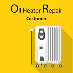 Oil Heater Repair Customer