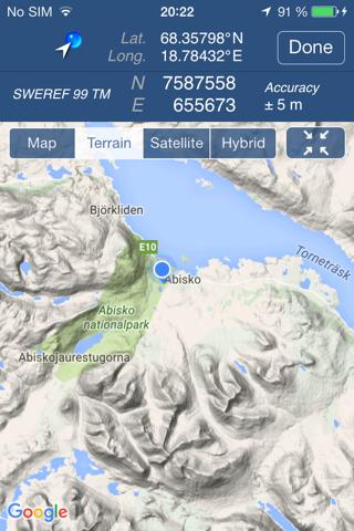 Swedish Coordinates - náhled