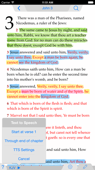Nlt Bible review screenshots