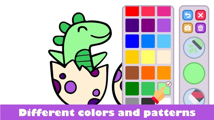 Drawing for kids: colour games screenshot-3