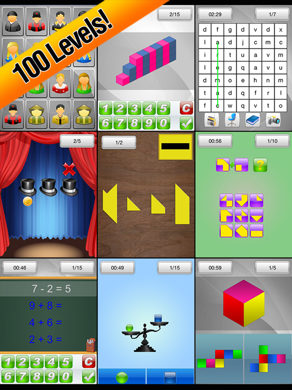 Brain School - No Ads Version Screenshots